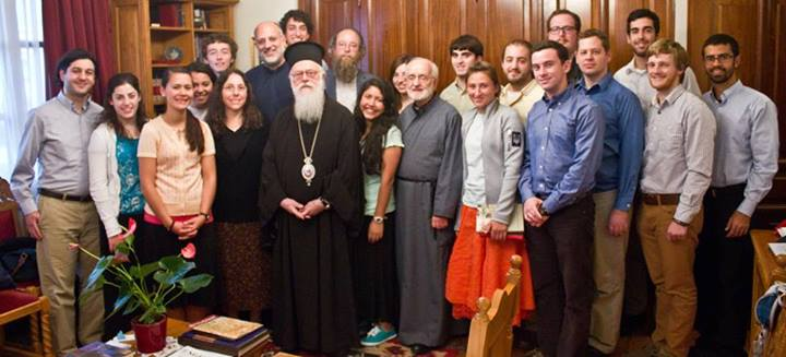Archbishop Anastasios with our Group